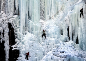Ice Climbing Mt. Washington