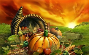 cornucopia thanksgiving cornu copiae or horn of plenty is a symbol of abundance