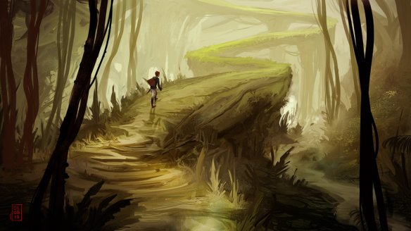 mysterious_path_by_johnofthenorth-d5qr4ue